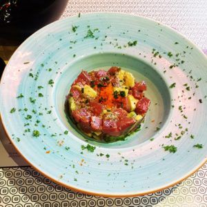 Tartar de atún - Sushi Yakuza