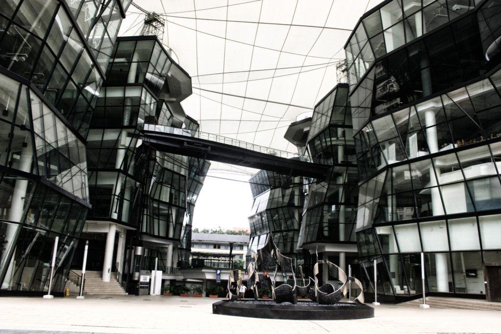modernidad en Singapur