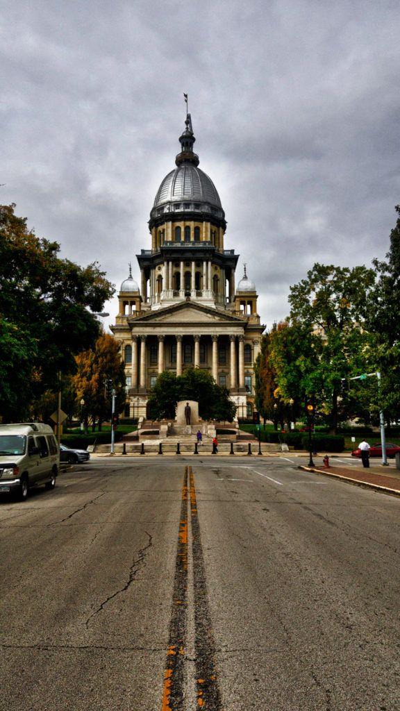 Etapa 2 de la Ruta 66: Illinois State Capitol