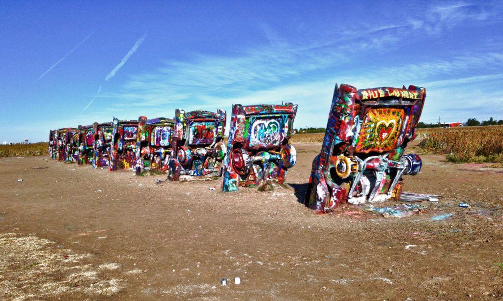 Etapa 6 de la Ruta 66: Cadillac Ranch