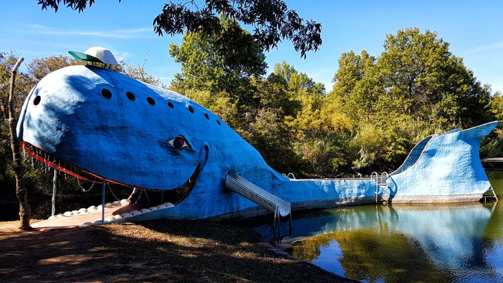 Etapa 4 de la Ruta 66: Blue Whale de Catoosa