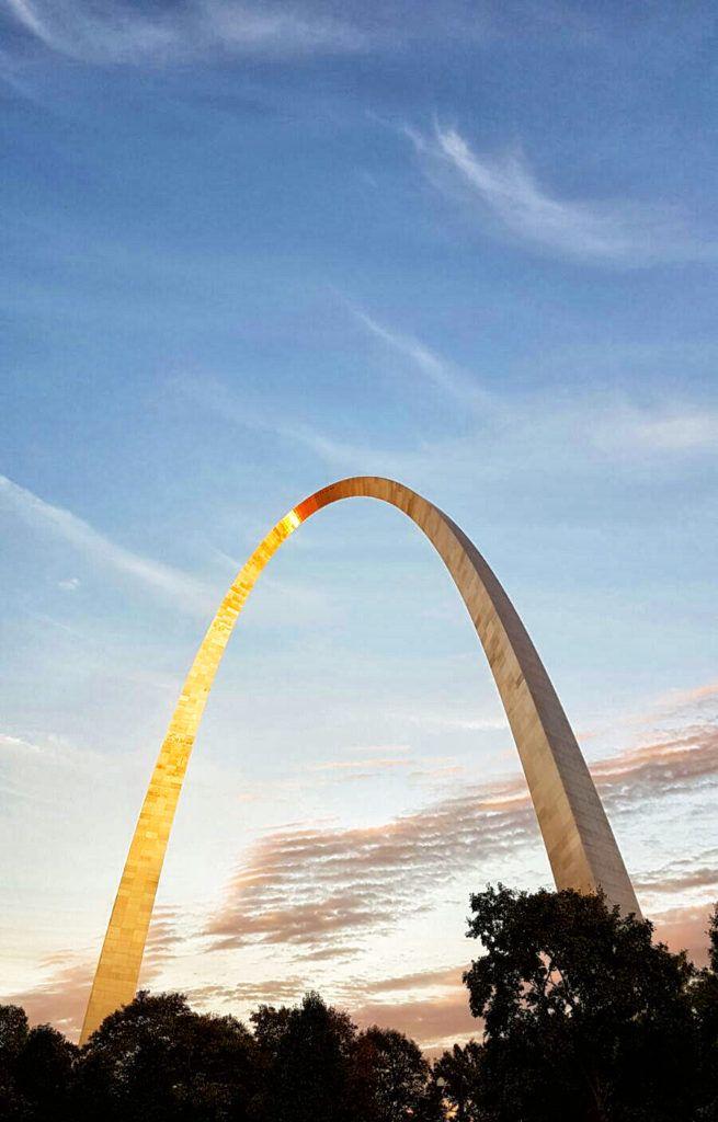 Etapa 2 de la Ruta 66: Gateway Arch en Saint Louis