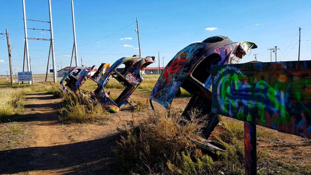 Etapa 5 de la Ruta 66: El rancho de los escarabajos en Groom