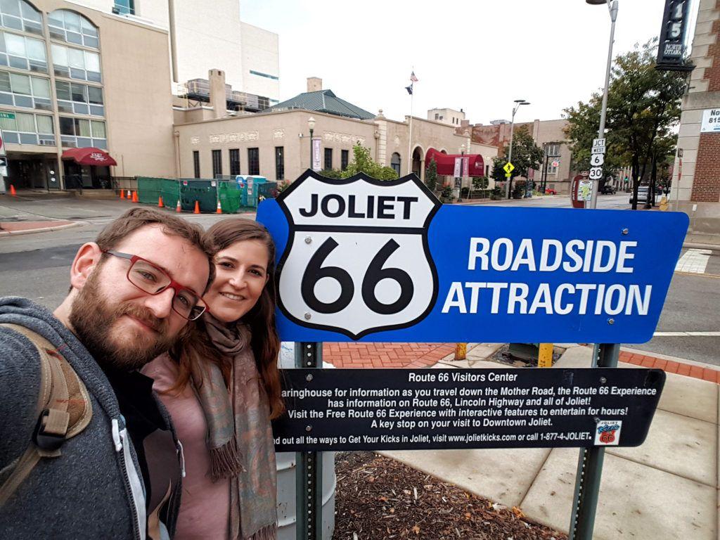 Etapa 1 de la ruta 66: Joliet