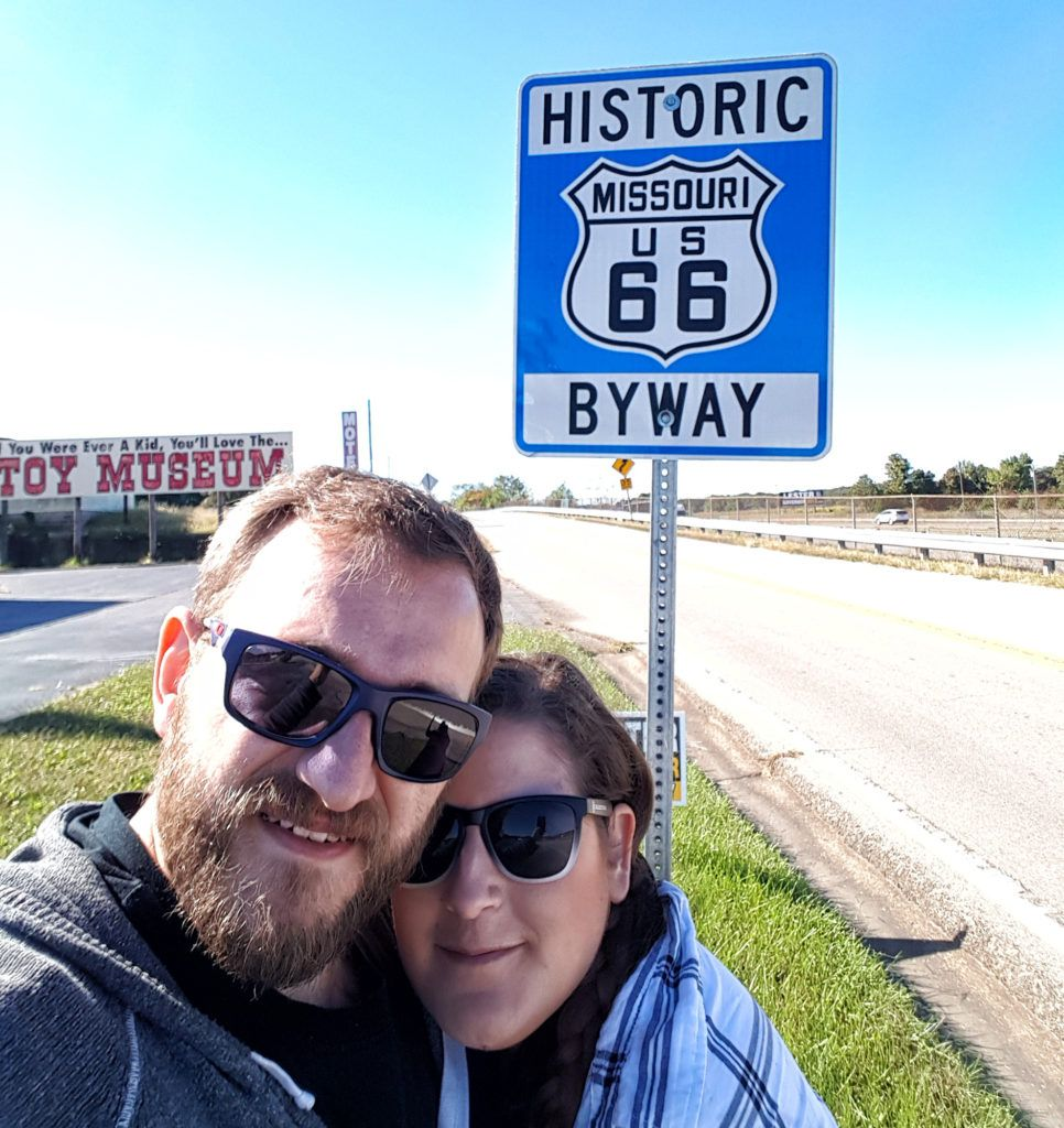 Etapa 3: Señal de la ruta en Missouri