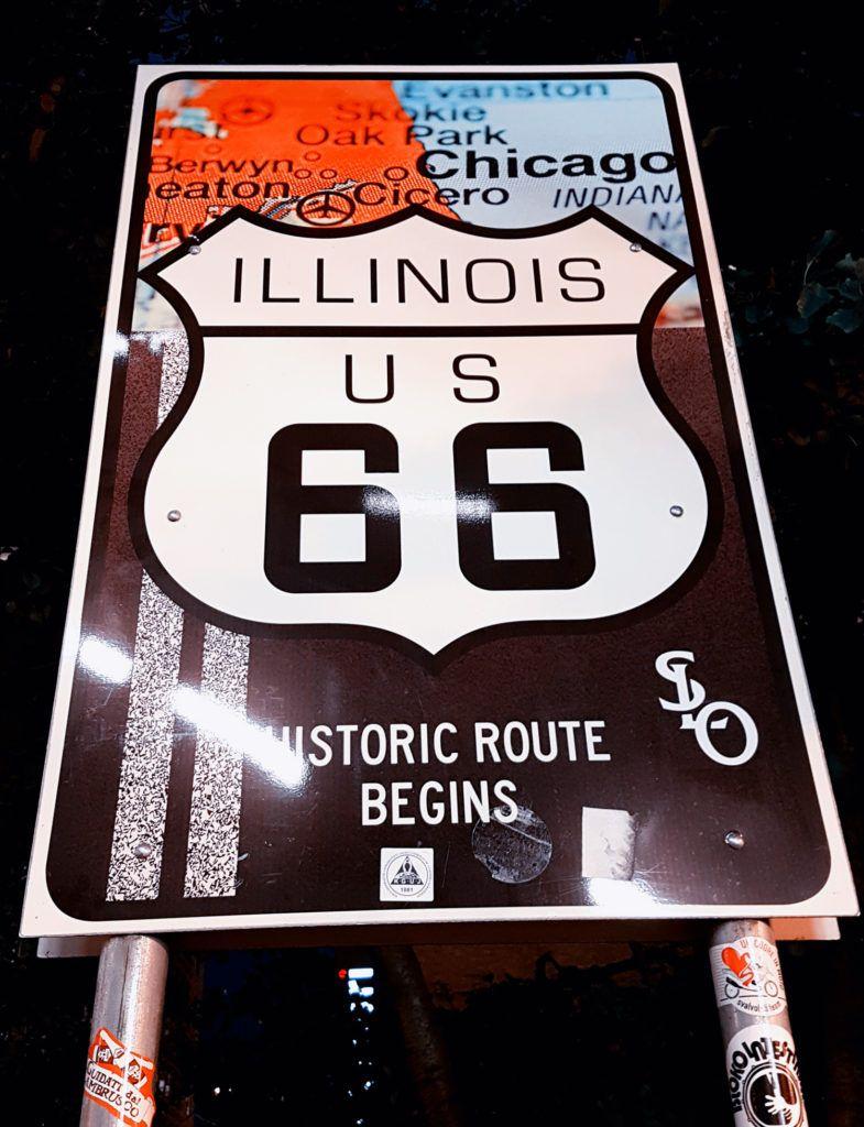 Inicio de la Ruta 66 - Qué ver en Chicago