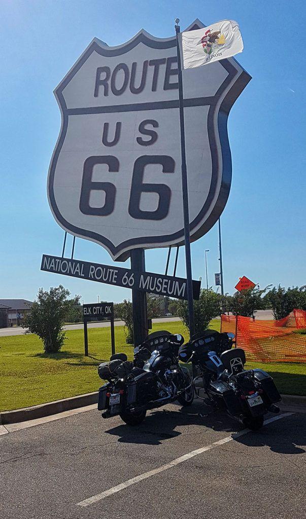 Etapa 5 de la Ruta 66: Museo de la Ruta 66 en Elk City