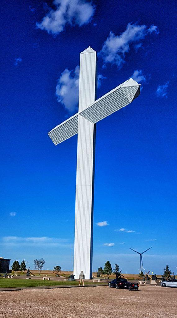 Etapa 5 de la Ruta 66: La cruz más alta de EEUU en Groom