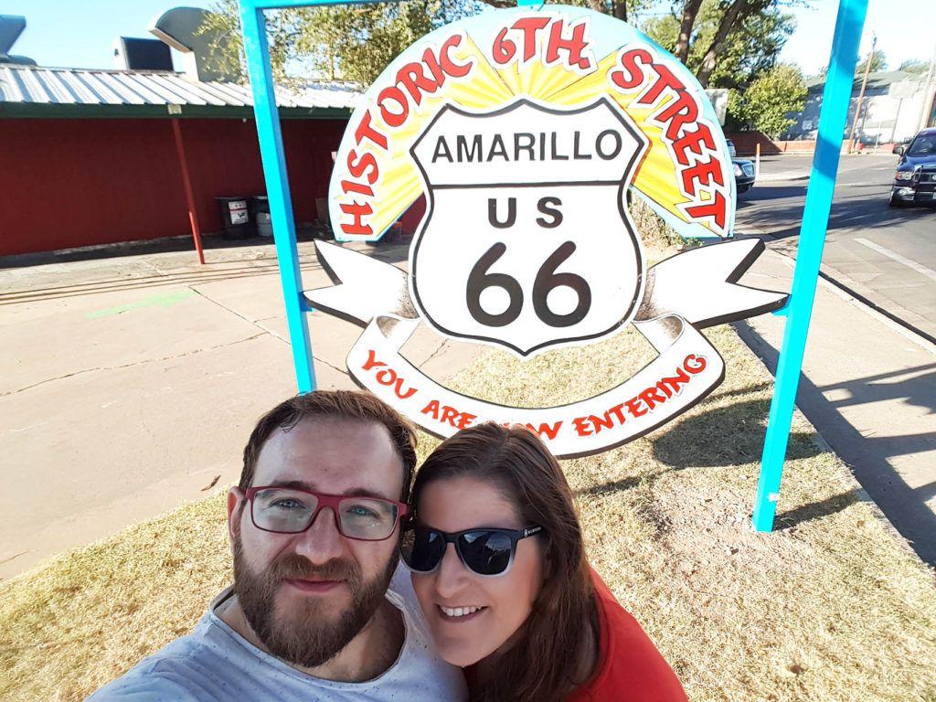 Etapa 6 de la Ruta 66: Amarillo
