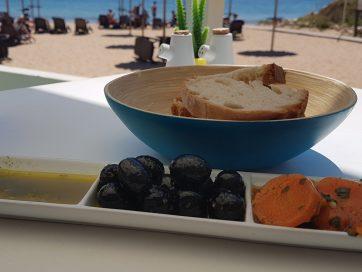 Cabanas Beach, disfrutando de la comida en las playas del Algarve