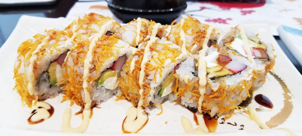 Kariage roll - GO Sushing