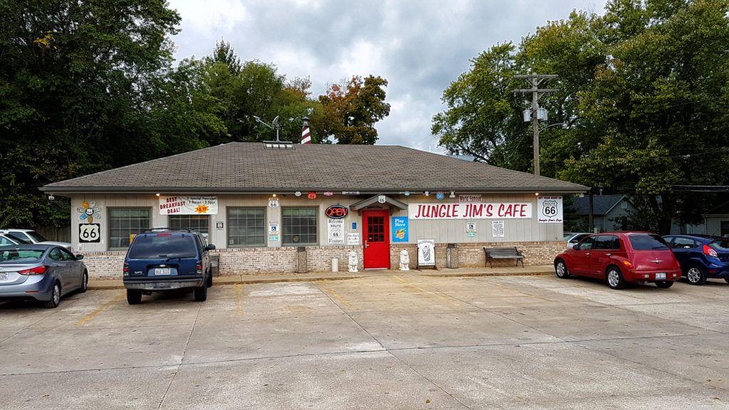 Etapa 2 de la Ruta 66: Jungle Jim's Cafe