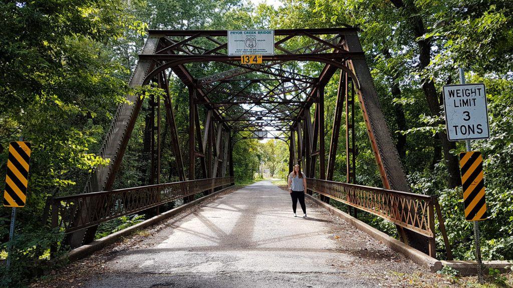 Etapa 4 de la Ruta 66: Pryor Creek Bridge