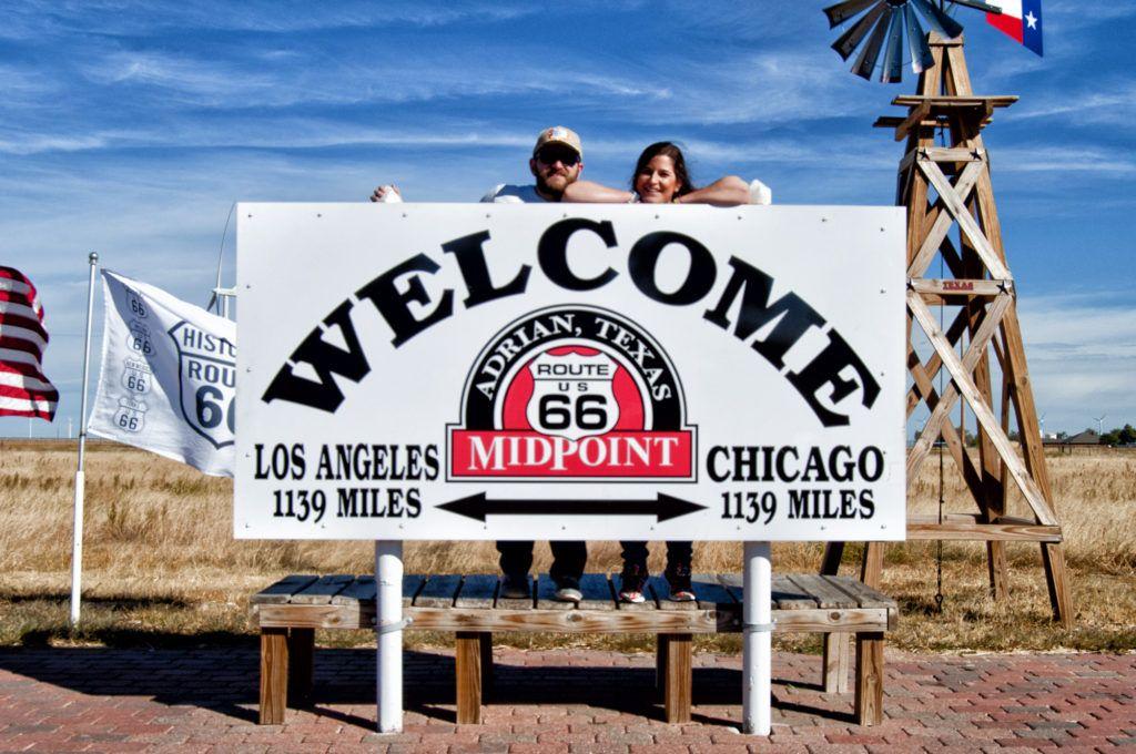 Etapa 6 de la Ruta 66: MidPoint en Adrian - cuanto mide la ruta 66
