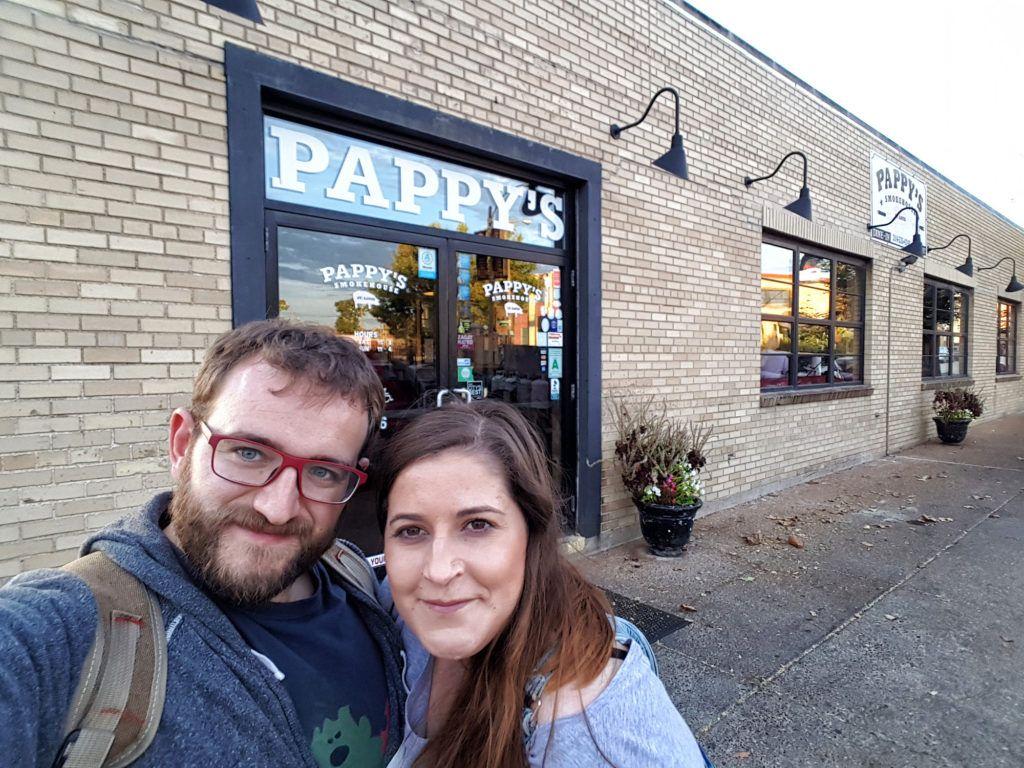 Etapa 2 de la Ruta 66: Pappy's Smokehouse en Saint Louis