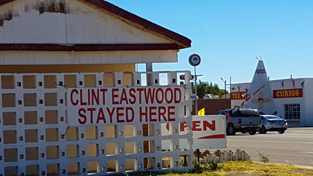 Etapa 6 de la Ruta 66: Cartel en Tucumcari