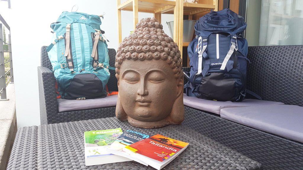hacer la maleta para Tailandia