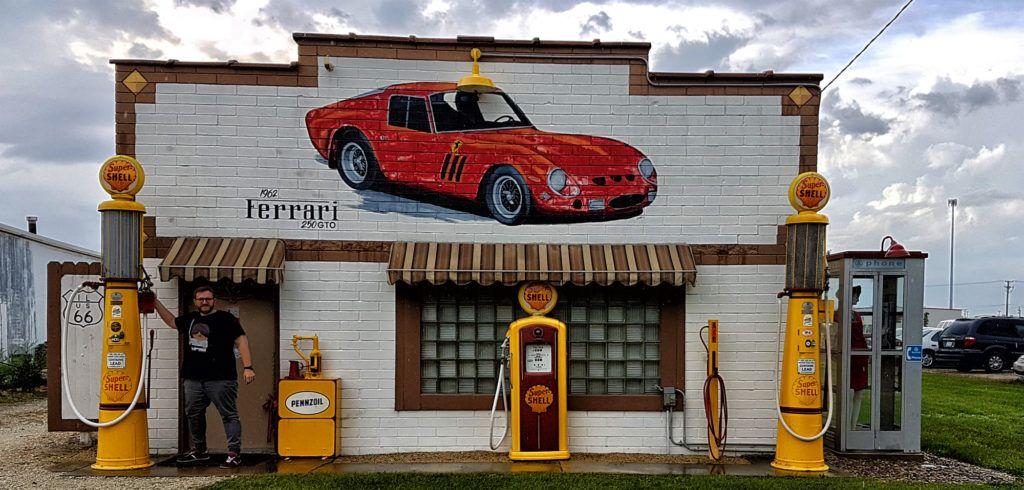 Etapa 1 de la ruta 66: Route 66 Tire & Auto en Dwight