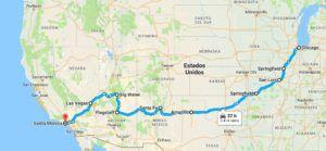 Guía de la Ruta 66 - Recorrido ruta 66