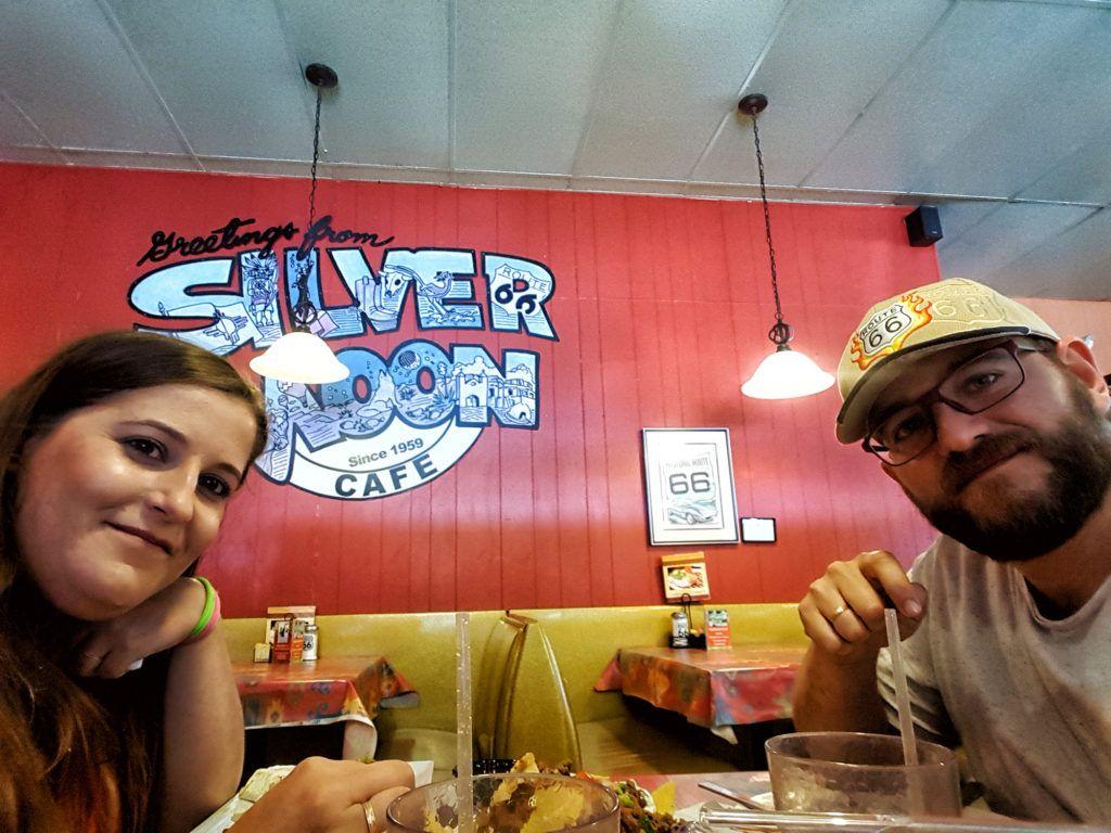 Dónde comer en la Ruta 66: Silver Moon Cafe