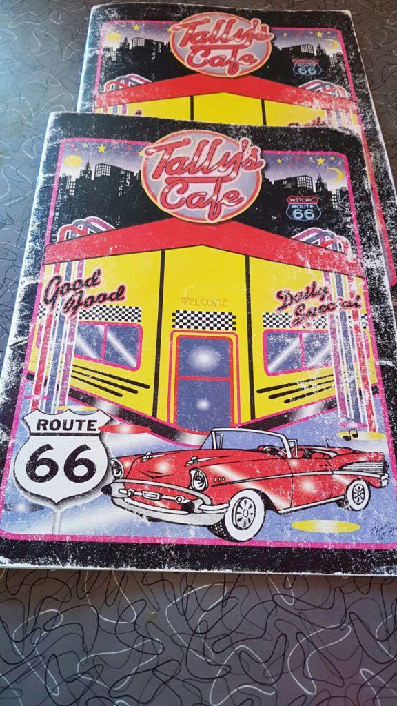 Dónde comer en la Ruta 66: Tally's Cafe