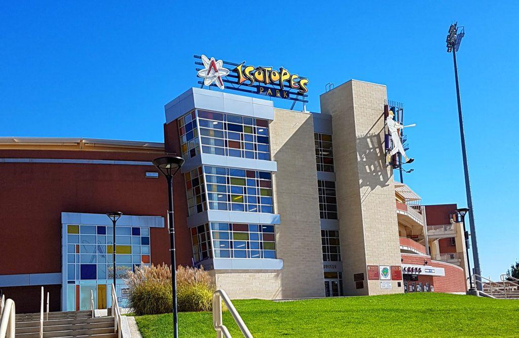 Etapa 7 de la Ruta 66: Estadio de los Isótopos en Albuquerque