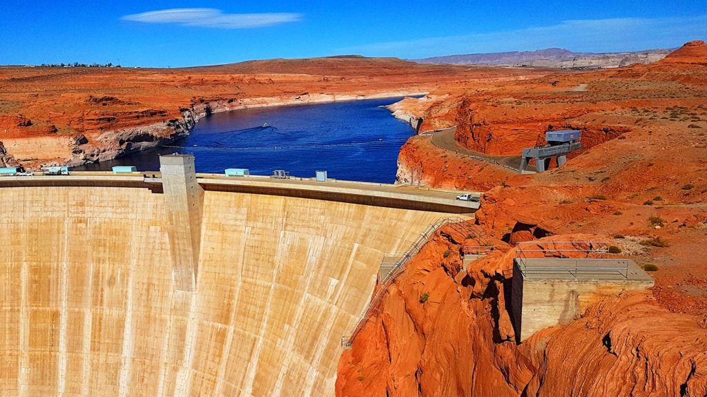 Parques Nacionales EEUU: Glen Canyon Dam