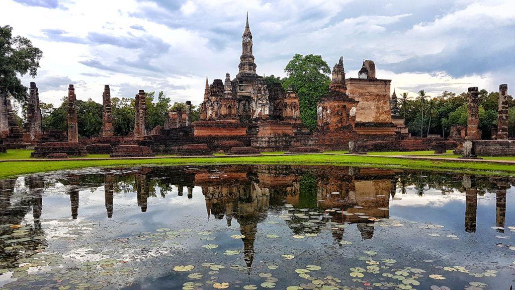 Guía de Tailandia: parque histórico de Sukhothai