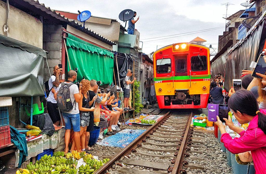 Guía de Tailandia: Mercado de Maeklong