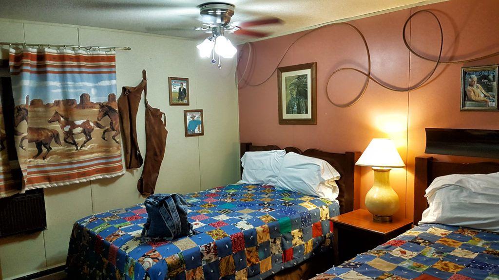 Etapa 9 de la Ruta 66: Nuestro hotel en Big Water