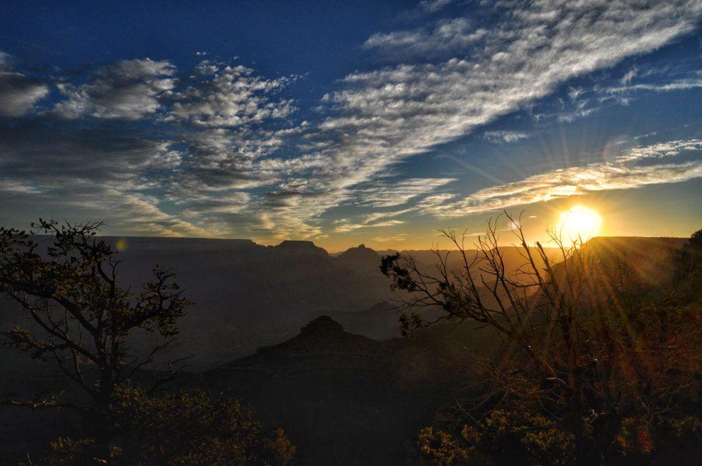 Etapa 9 de la Ruta 66: Amanecer en el Gran Cañón