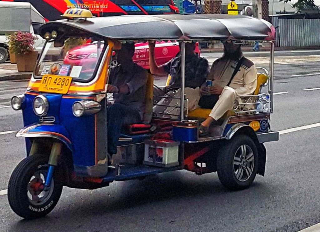 Guía de Tailandia: tuk-tuk