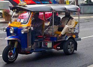Guía de Tailandia: tuk-tuk regatear en Tailandia