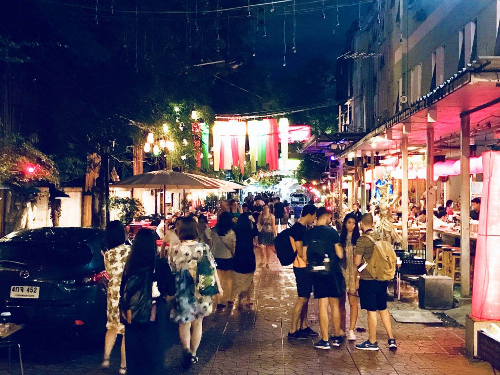 Qué ver en Bangkok en 3 días: Khao San Road