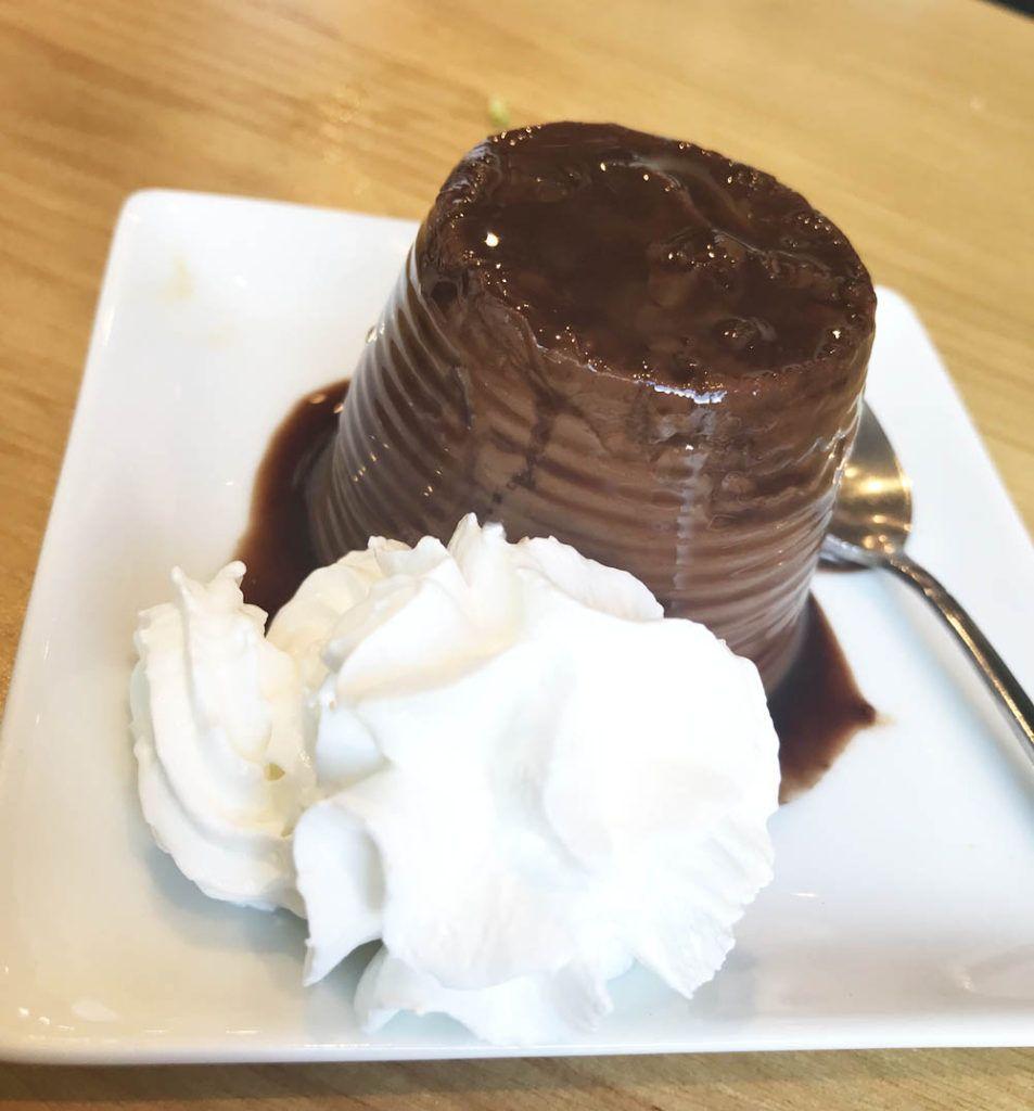 Deliquio: Miniflan de chocolate