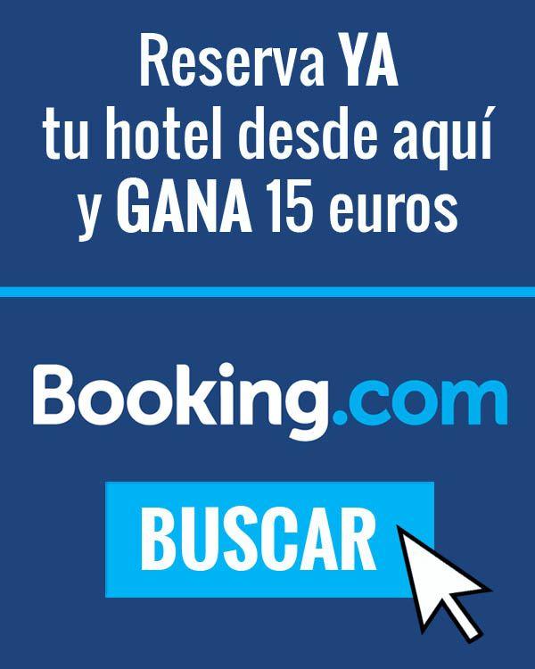 Gana 15 euros en booking.com