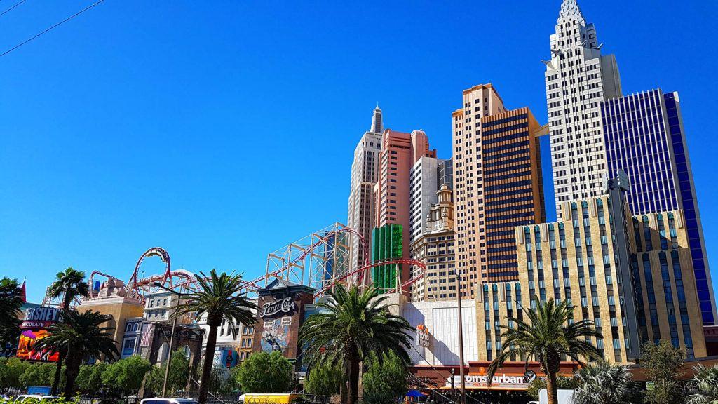 Skyline del New York New York - Qué hacer en Las Vegas