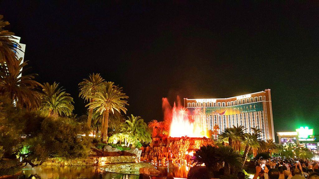 Volcán del Mirage - Qué hacer en Las Vegas