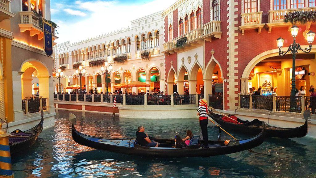 Canales del Venetian - Qué hacer en Las Vegas