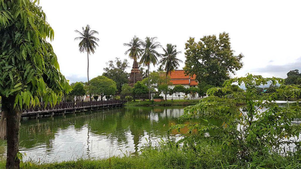 Qué ver en Sukhothai: Wat Traphang Thong