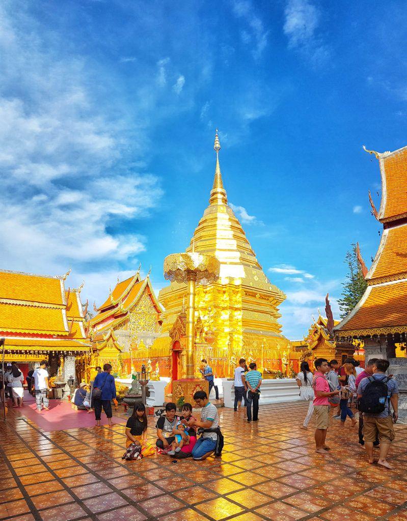 Qué ver en Chiang Mai: Wat Phra Doi Suthep