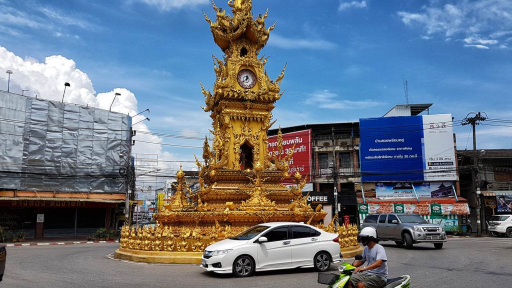 qué ver en Chiang Rai: Torre del reloj