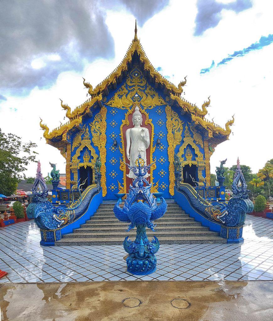 Qué ver en Chiang Rai: Blue Temple