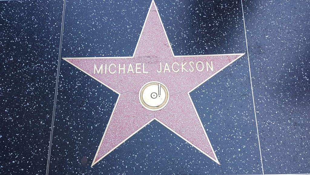 Estrella de Michael Jackson en el paseo de la fama de Hollywood