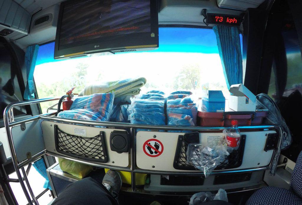 Autobús de Ayutthaya a Sukhothai