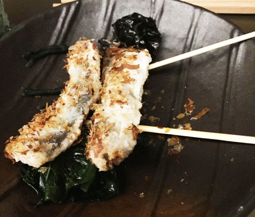 Aperitivo de sardinas - Restaurante Kabuki