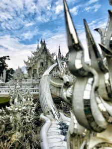 Qué ver en Chiang Rai: Templo Blanco - excursiones en Tailandia