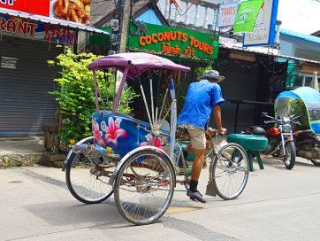 Trucos para coger un tuk tuk en Tailandia
