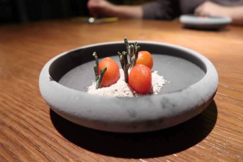 Restaurante dStage - Tomate garum