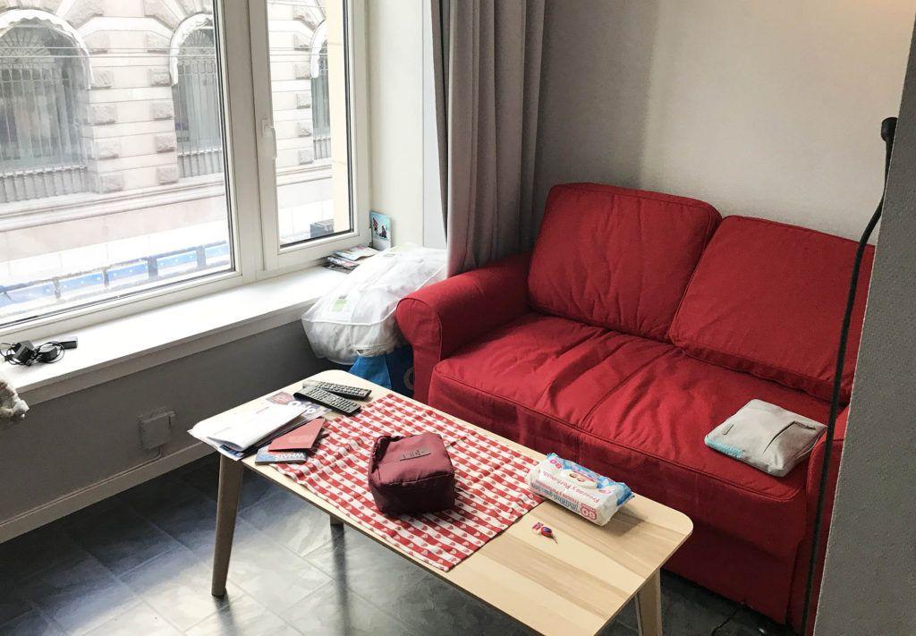 Nuestro apartamento en Oslo